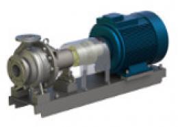 Горизонтальные консольные электронасосные агрегаты типа Х