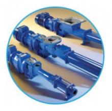 Компактный шнековый насос s15a перекачивает шлам, сточные воды и химикаты